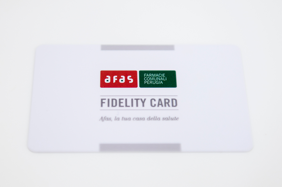 Afas - Fidelity Card
