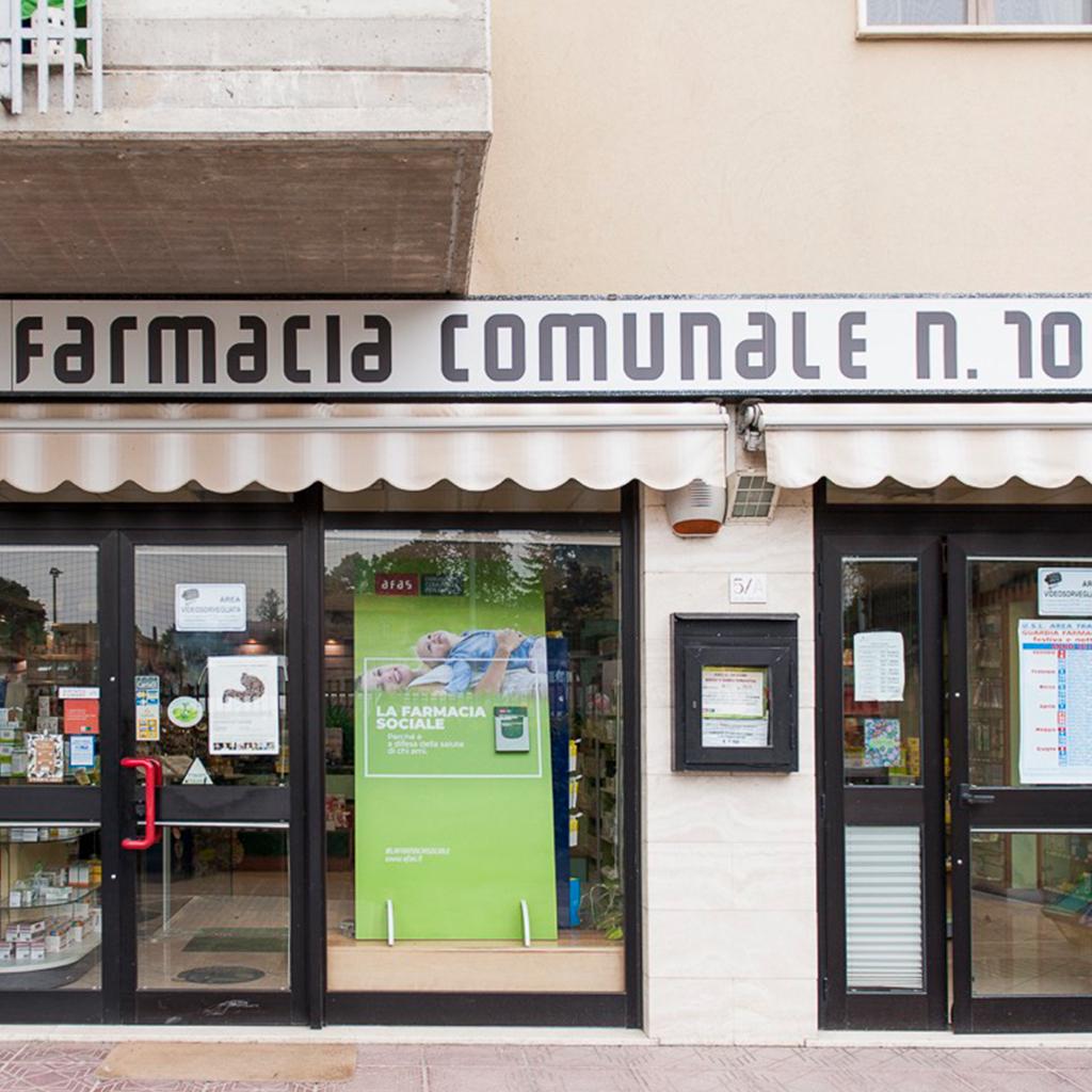 Farmacia Comunale AFAS n.10 San Feliciano - Ingresso