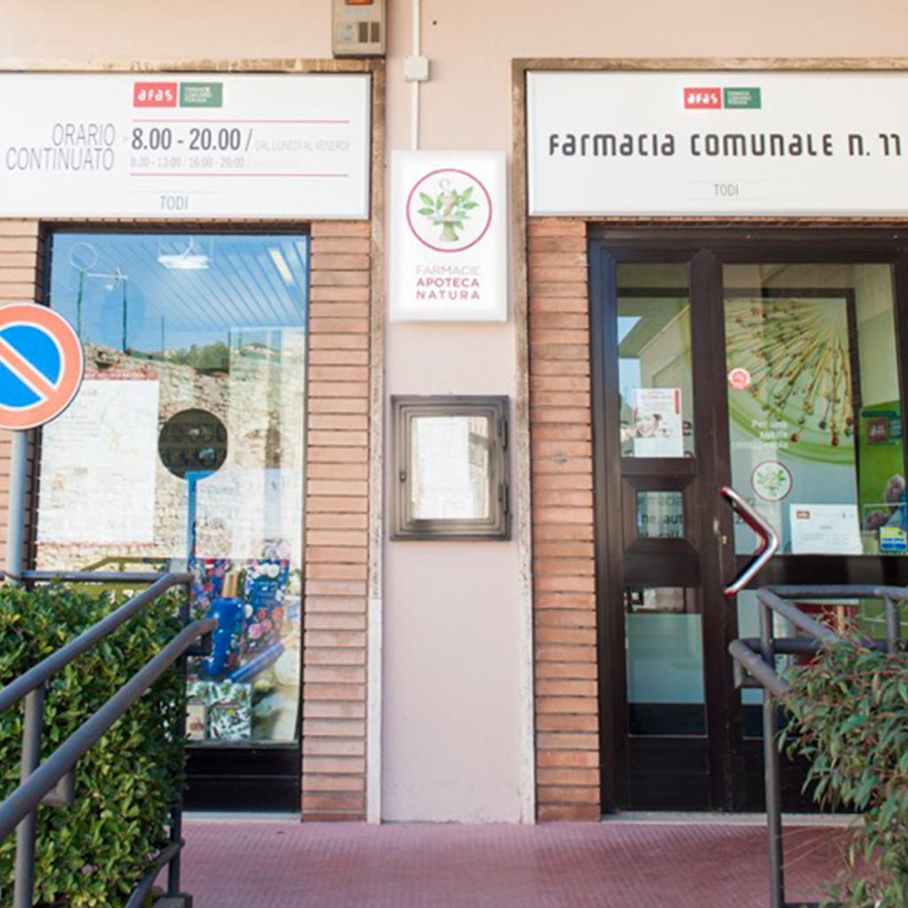 Farmacia Comunale AFAS n.11 Todi - Ingresso