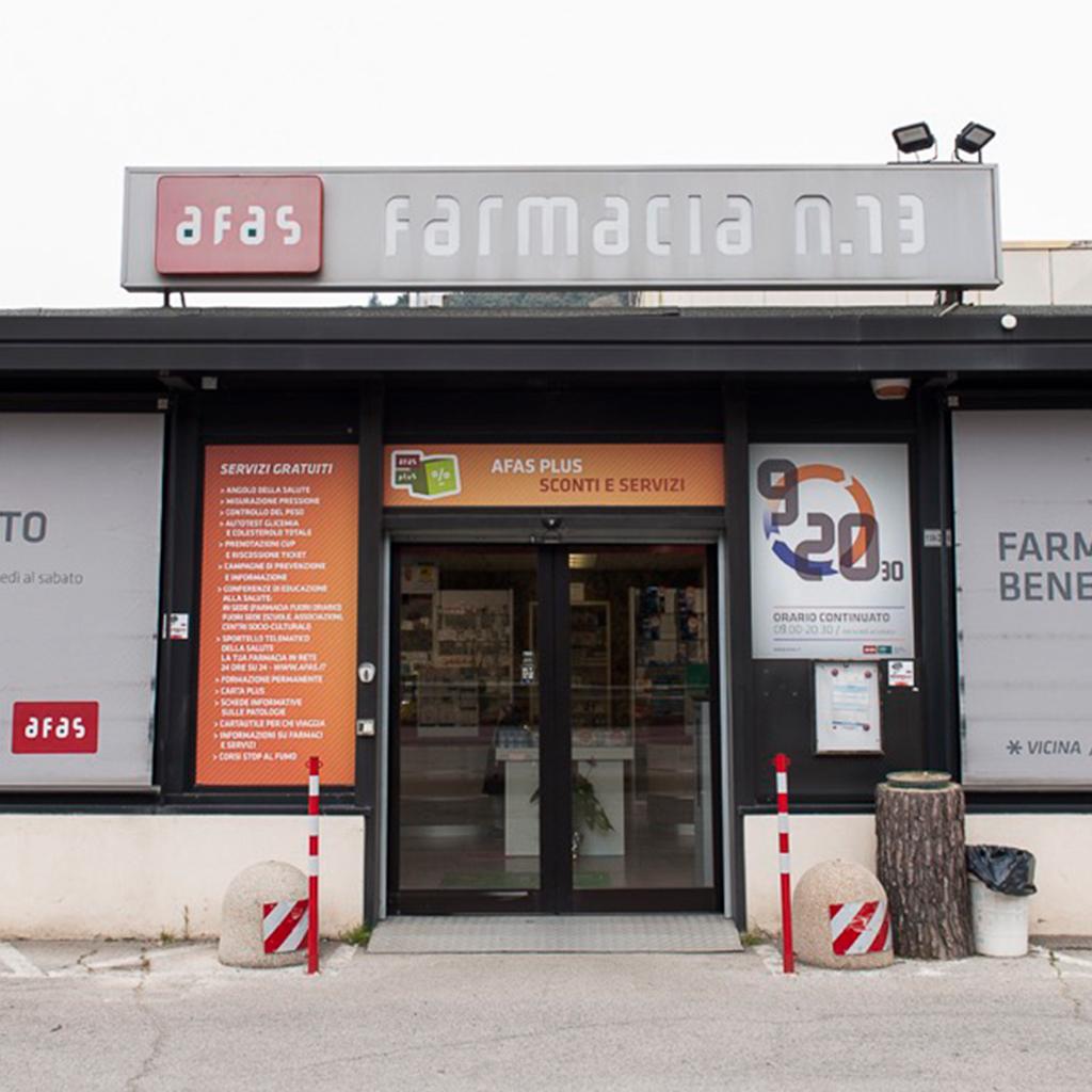 Farmacia Comunale AFAS n.13 Olmo - Ingresso