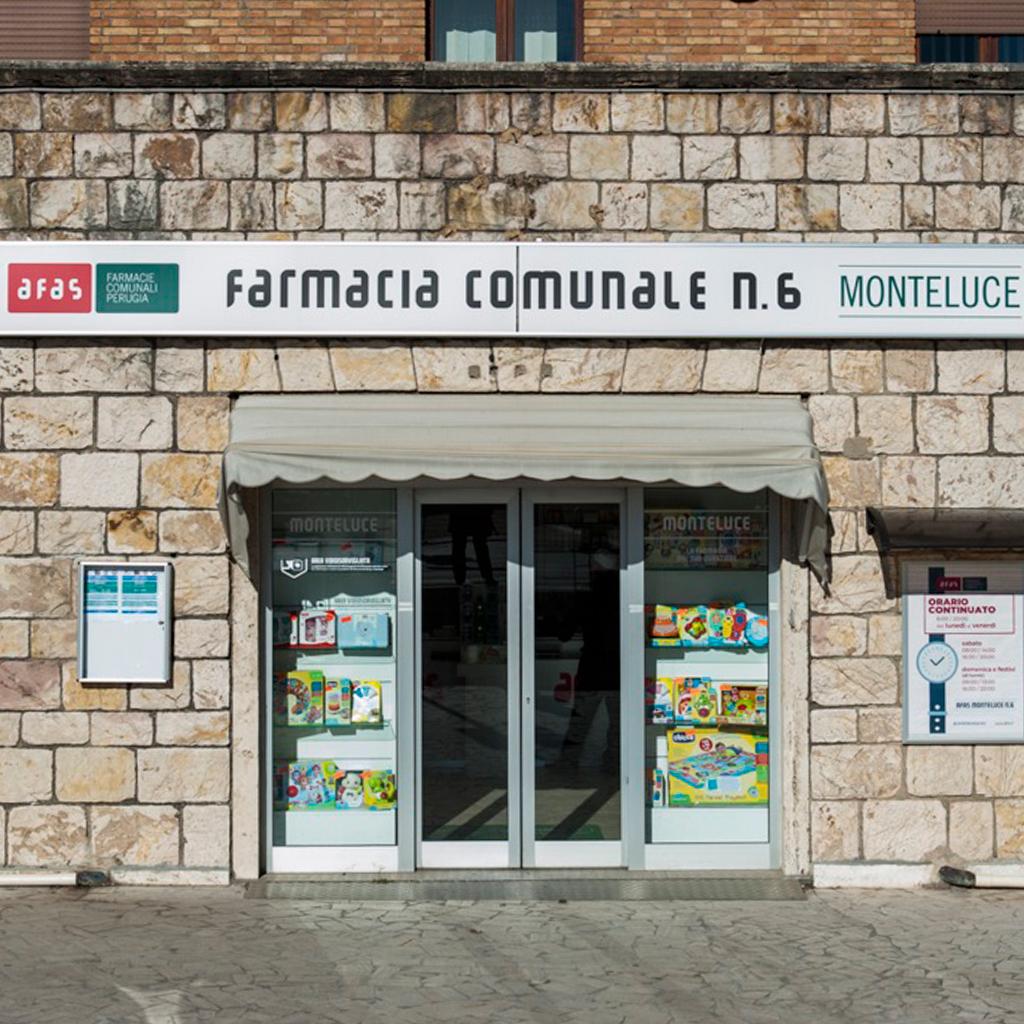 Farmacia Comunale AFAS n.6 Monteluce - Ingresso