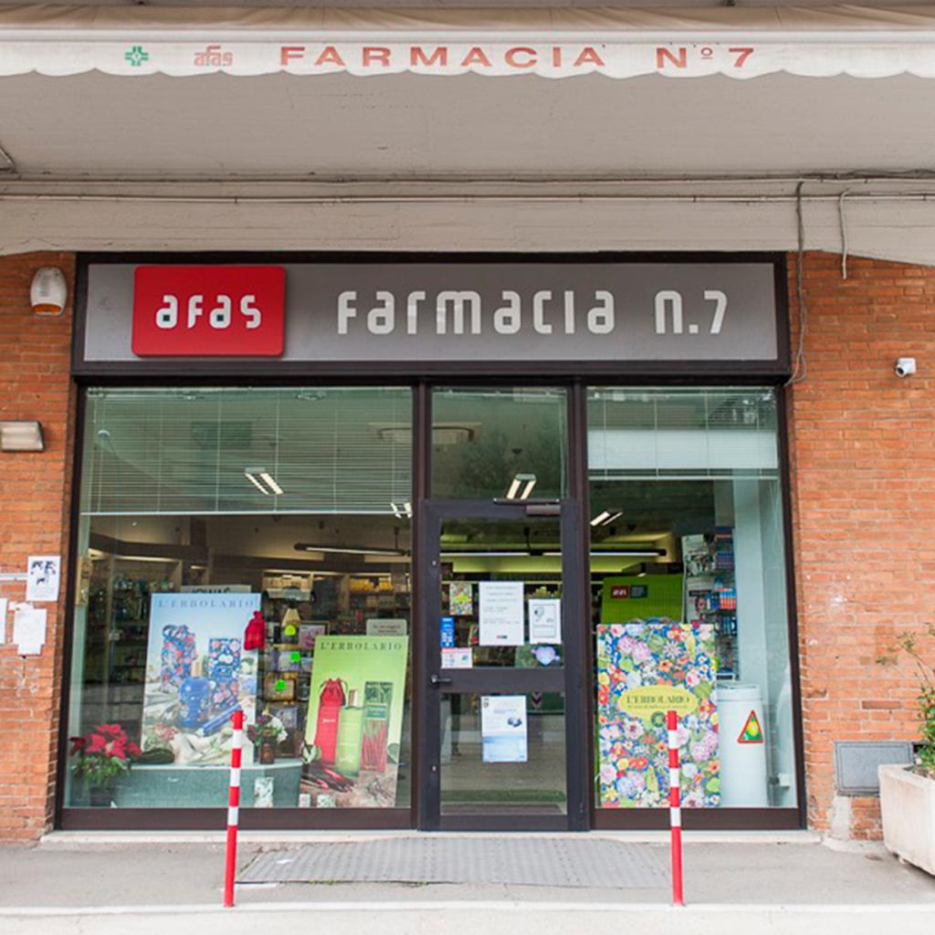 Farmacia Comunale AFAS n.7 Montegrillo - Ingresso