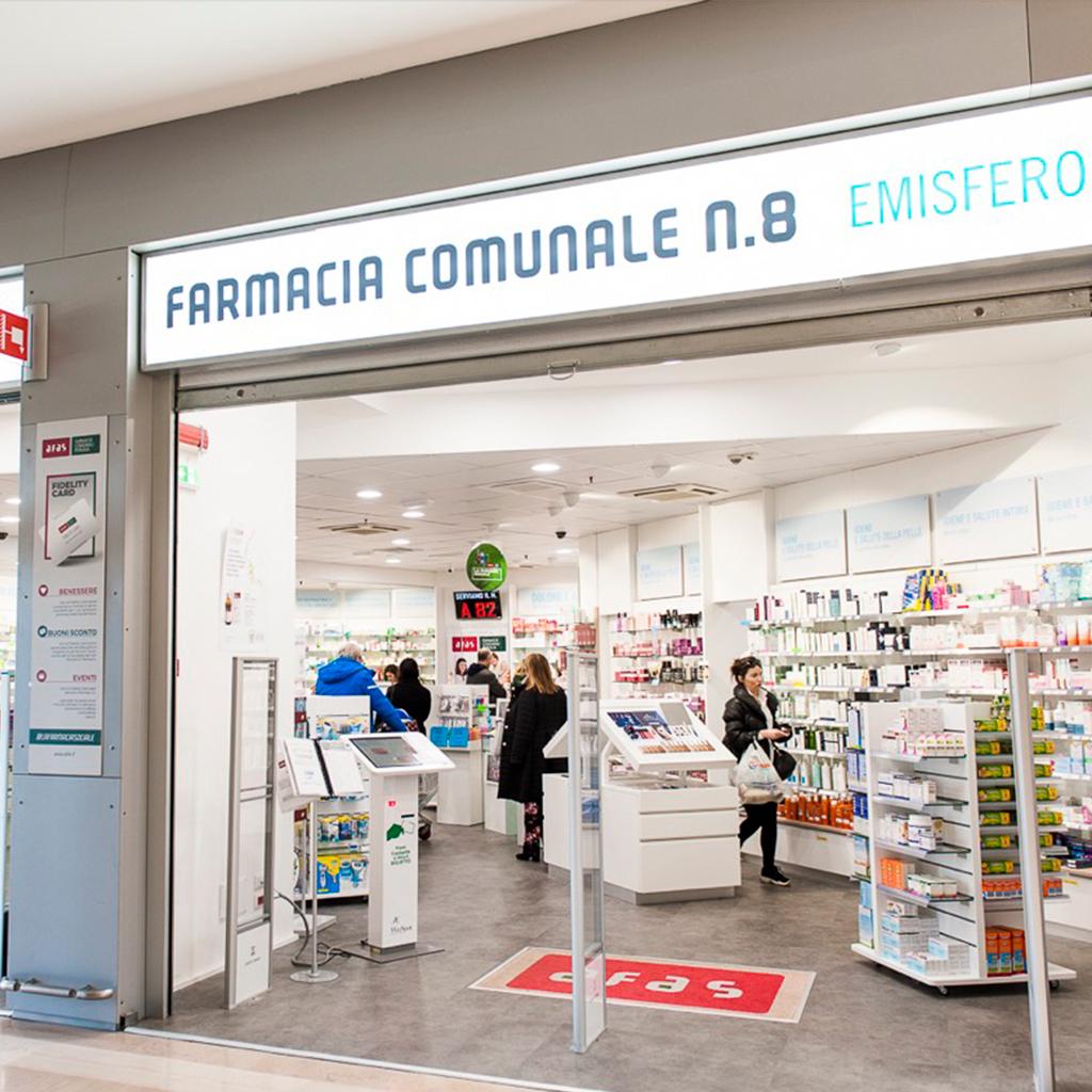 Farmacia Comunale AFAS n.8 Emisfero - Ingresso