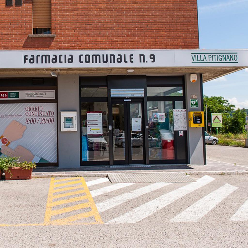 Farmacia Comunale AFAS n.9 Villa Pitignano - Ingresso